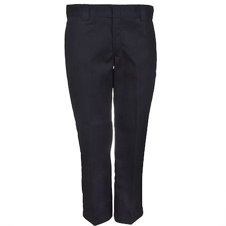 Dickies Black WP873 BK Slim Straight Wrinkle Resistant Work Pants