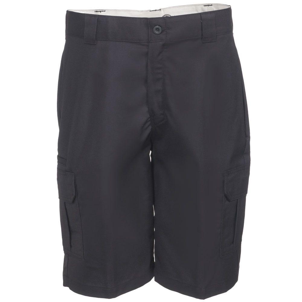 Dickies Black WR556 BK Flex 11 Inch Cargo Shorts