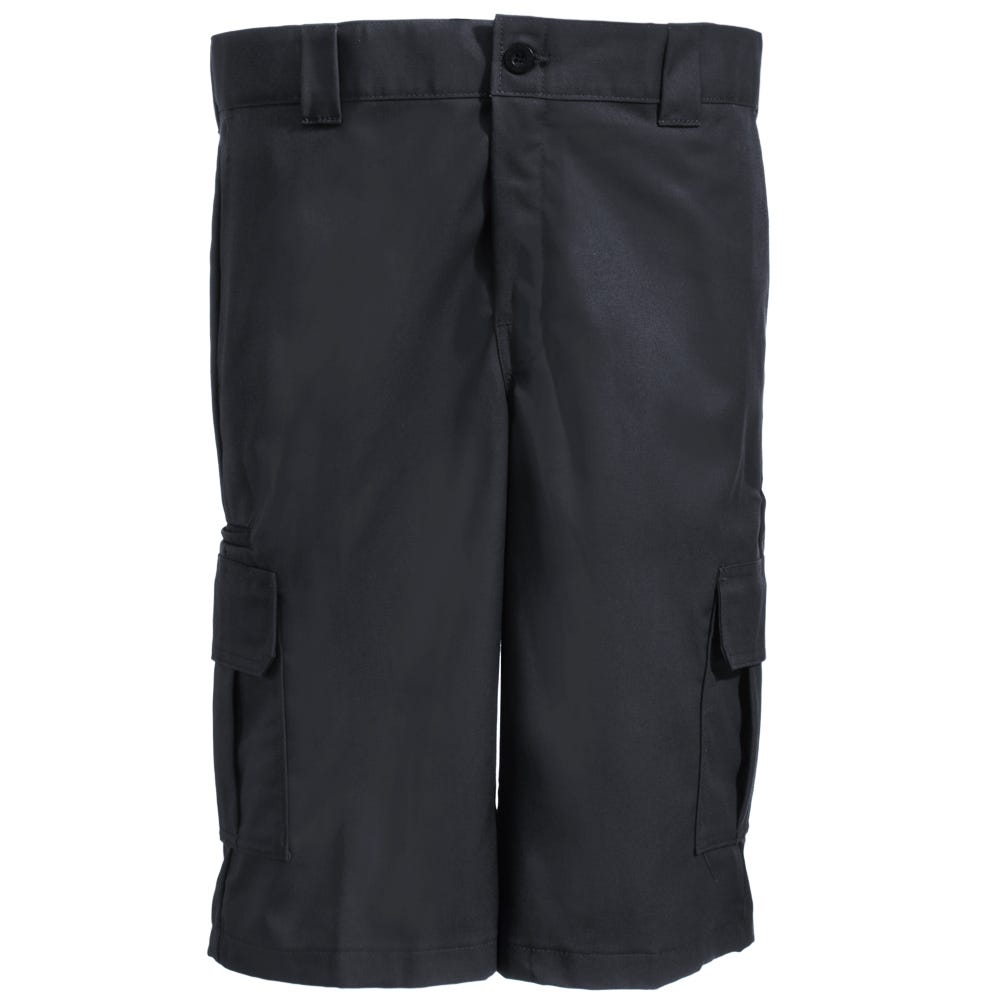 Dickies WR557 BK Black Relaxed Fit Cotton Blend Cargo Shorts