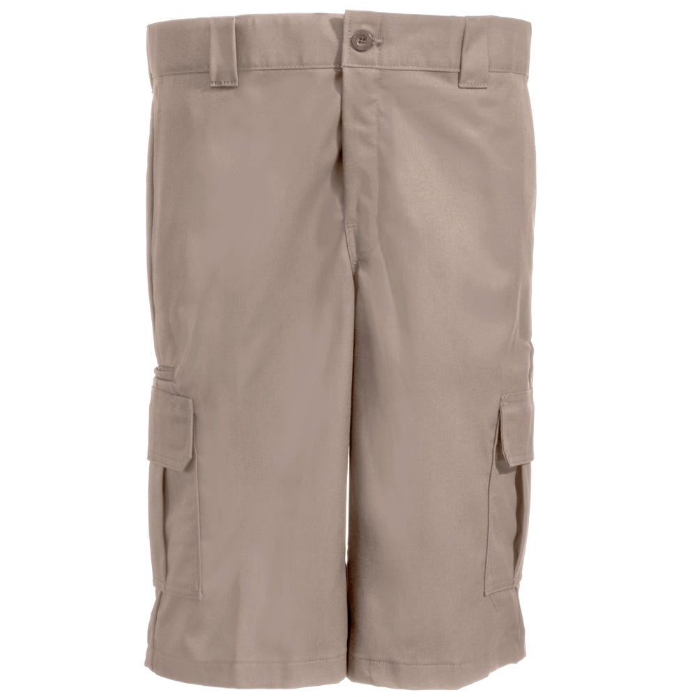 Dickies WR557 DS Tan Relaxed Fit Poly/Cotton Cargo Shorts