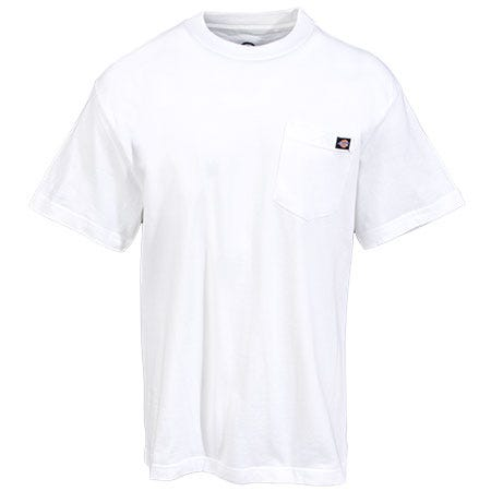 Dickies shirts men 39 s ws450 white wh heavyweight cotton for White cotton work shirts