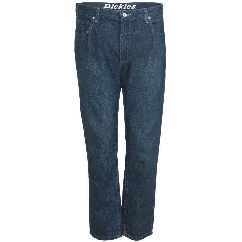 Dickies Cotton Denim Regular Fit Straight leg Blue Jeans XD730