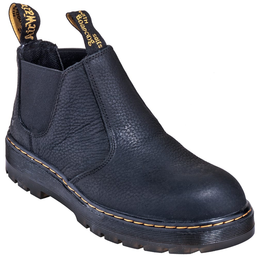 Dr. Martens R16942001 Black Steel Toe EH Slip-Resistant Boots