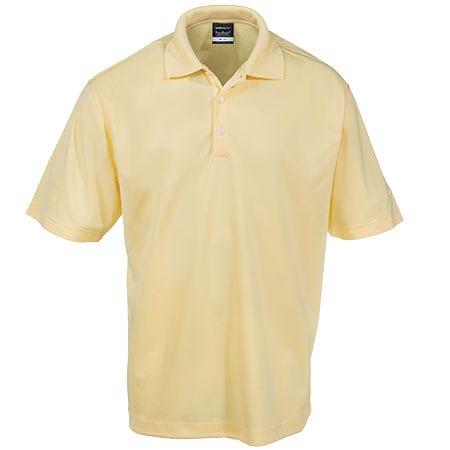Nike shirts men 39 s dri fit 363807 cslk yellow performance for Golf shirt vs polo shirt