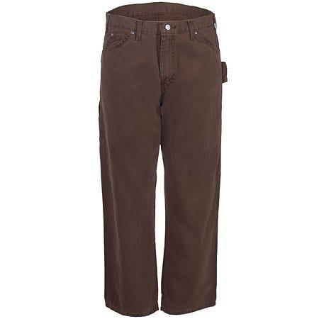 Dickies Rinsed Timber Brown DU336 RTB Duck Carpenter Jeans