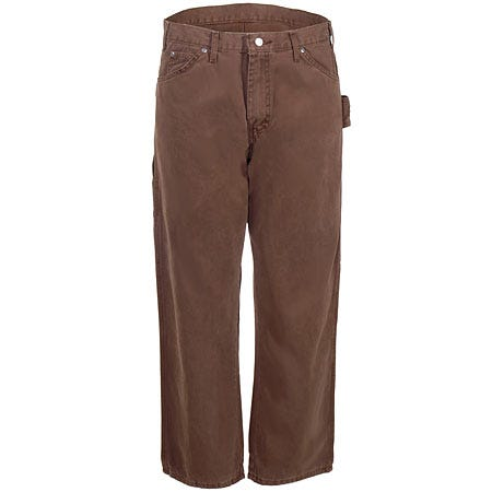 Dickies Brown DU336 RBD Relaxed Fit Duck Carpenter Jeans