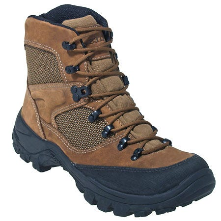Bates Boots Mens Waterproof Hiking Boots 3640 With Vibram Soles