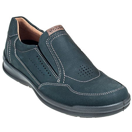 Ecco Shoes: Men's Remote Black 521094 57751 Moisture Wicking Slip On Shoes Sale $134.00 Item#521094-57751 :