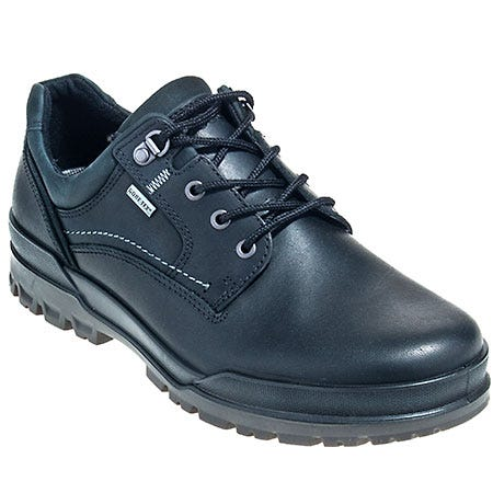 Ecco Shoes: Men's Waterproof Nubuck Leather Athletic Work Shoes 522004 53859