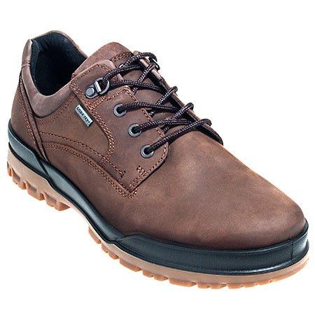 Ecco Shoes: Men's Track 6 GTX Brown 522004 55738 Waterproof Work Shoes