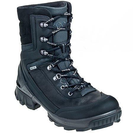 Ecco Boots: Men's BIOM Black 51052 Waterproof Slip Resistant Hiker Boots Sale $265.00 Item#811534-51052 :