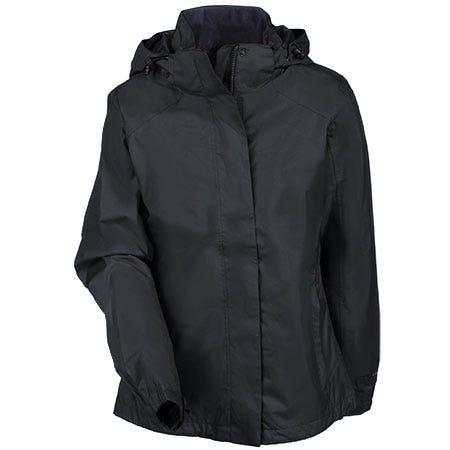 Eddie Bauer Women's Waterproof EB551 BLK Black Rain Jacket
