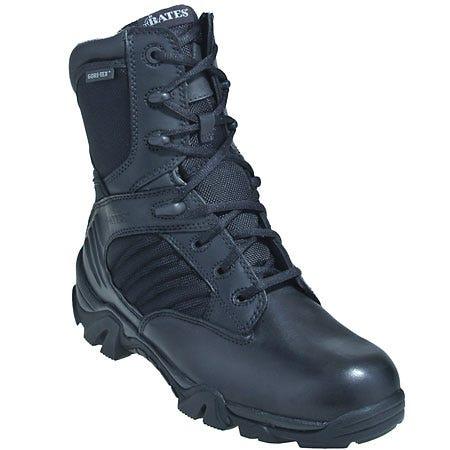 Bates Boots: Men's Black 2488 GX-8 Gore-Tex  Boots