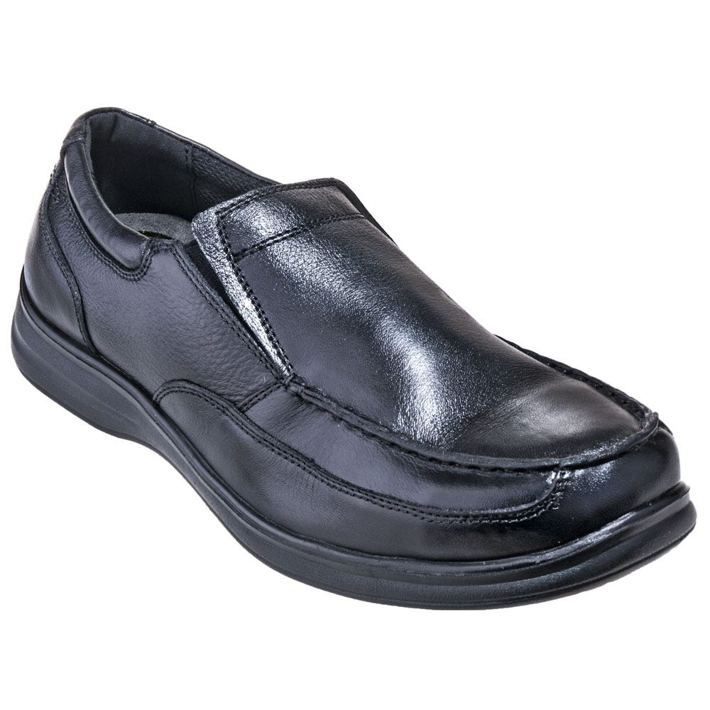 7a3bdaa825b Florsheim FS208 Black ESD Steel Toe Slip-On Dress Shoes