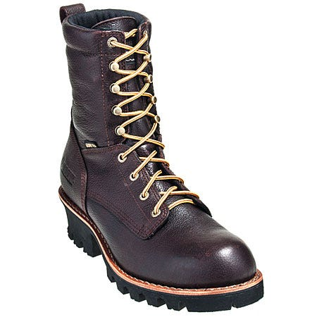 Rocky Boots Men's Brown Composite Toe Waterproof Insulated EH Logger Boots 6543