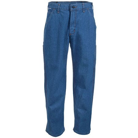 Carhartt Jeans: Men's Flame-Resistant Cotton Denim Jeans FRB13 DNM