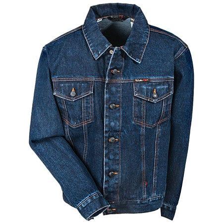 Walls Jackets: Men's Fire-Resistant Stonewashed Denim Jacket O37410J Sale $88.00 Item#FRO37410-SW :