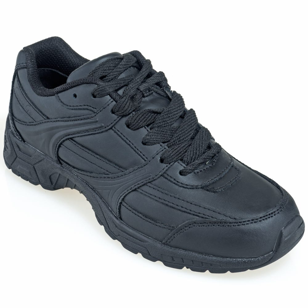 Genuine Grip Women's 1110 Black Water-Resistant Slip-Resistant Shoes