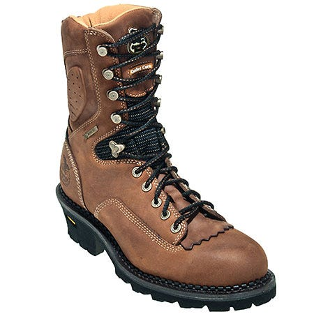 Georgia Boots: Men's Brown G030 Waterproof Slip Resistant Logger Boots Sale $230.00 Item#G030 :