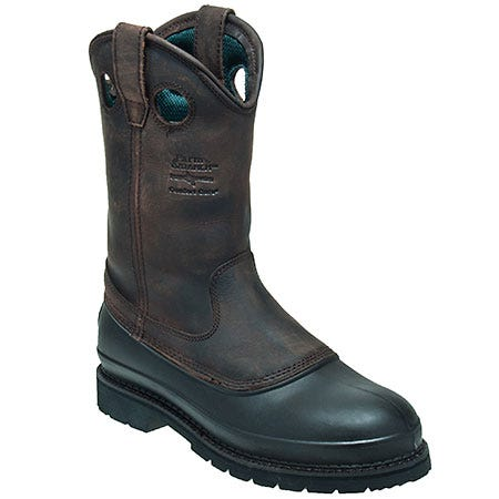 Georgia Boots: Men's Mud Dog Pull-On Wellington Work Boots G5514