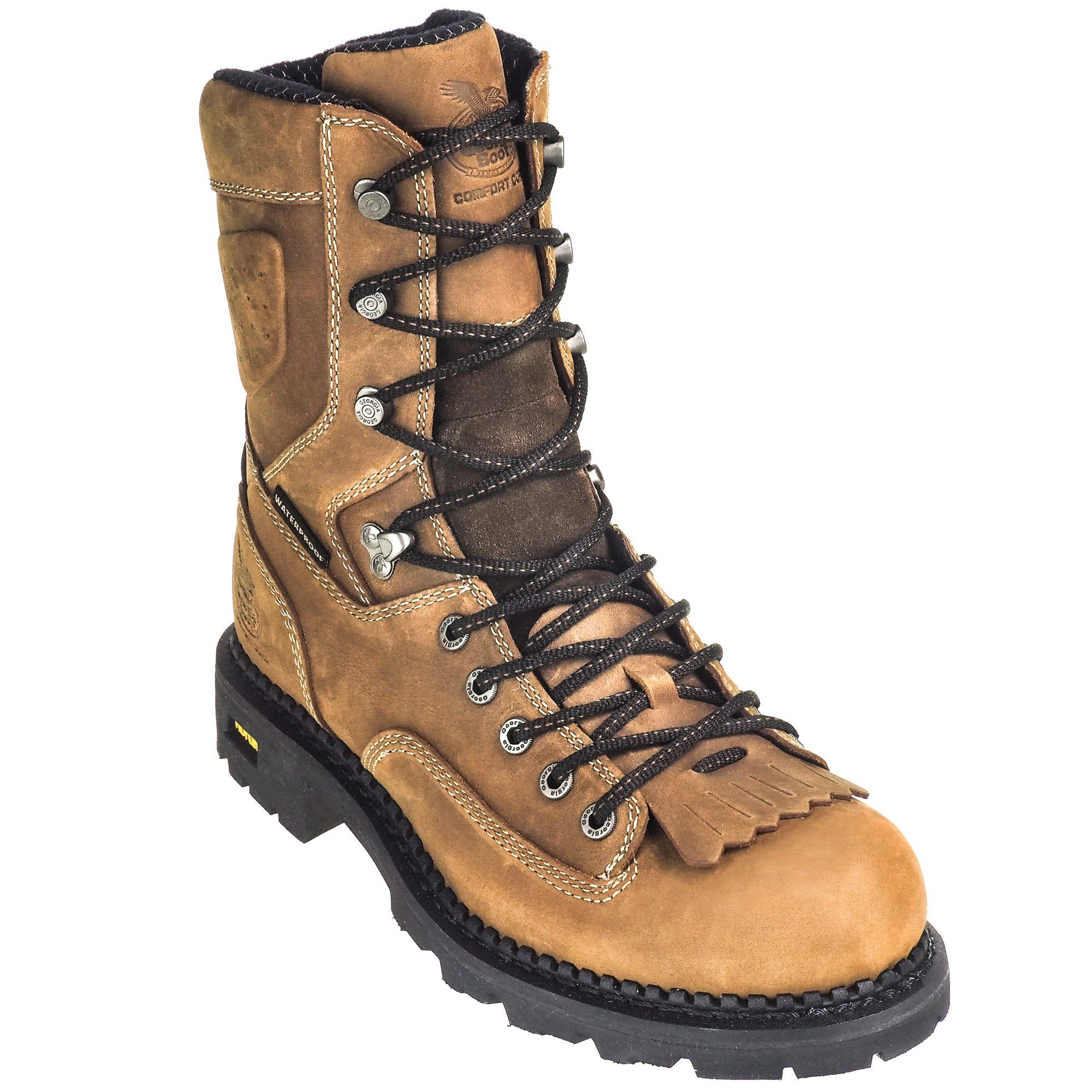 abb9ab46d25 Georgia Boots: Waterproof Men's Composite Toe Brown EH GB00123 8 ...