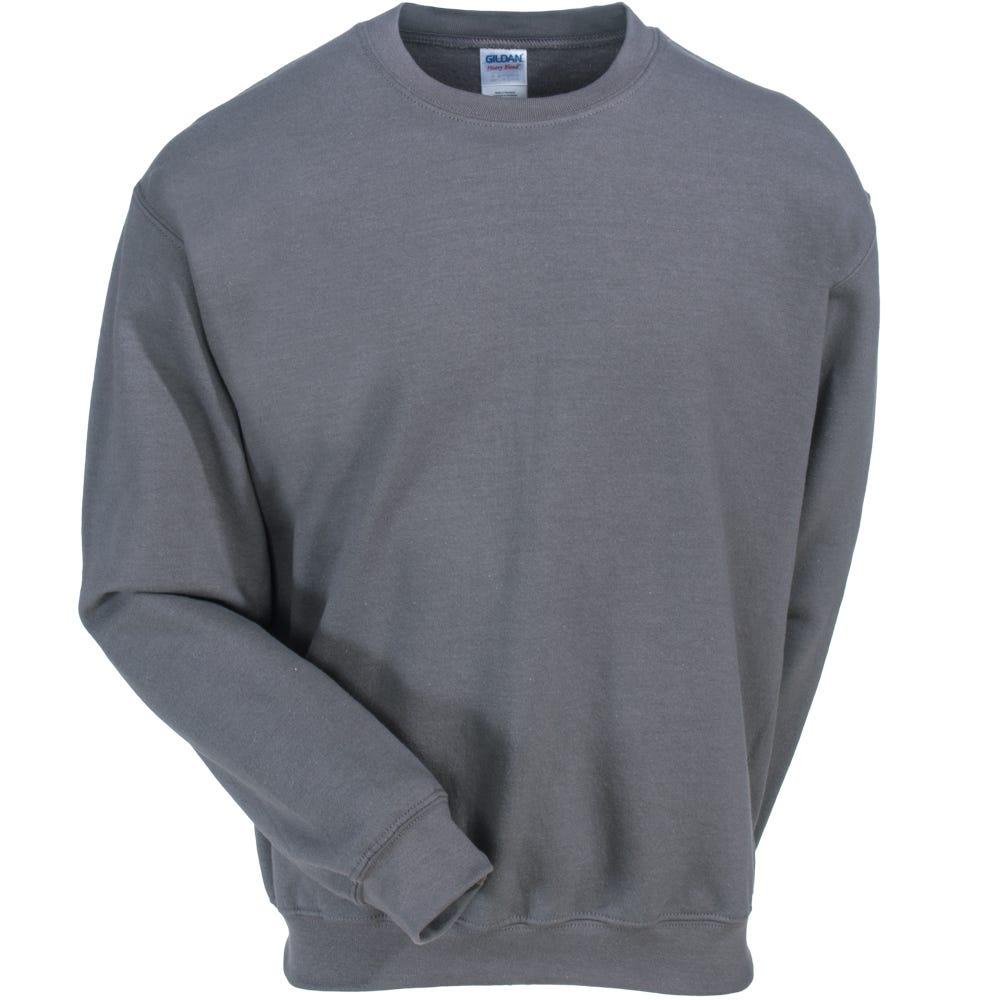 1f2189742 Gildan Sweatshirts: Men's 18000 CHR Grey Heavy Blend Crewneck Sweatshirt
