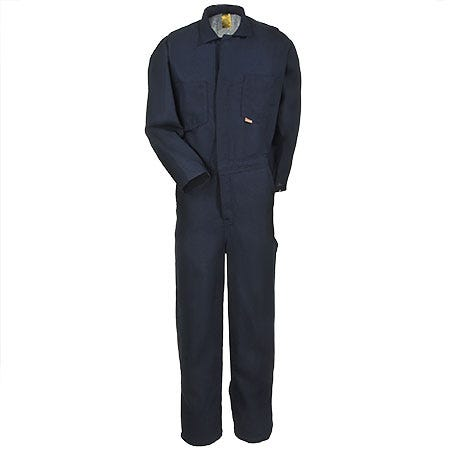 Occunomix Coveralls: Men's G904N NB Flame-Resistant Navy Nomex Coveralls