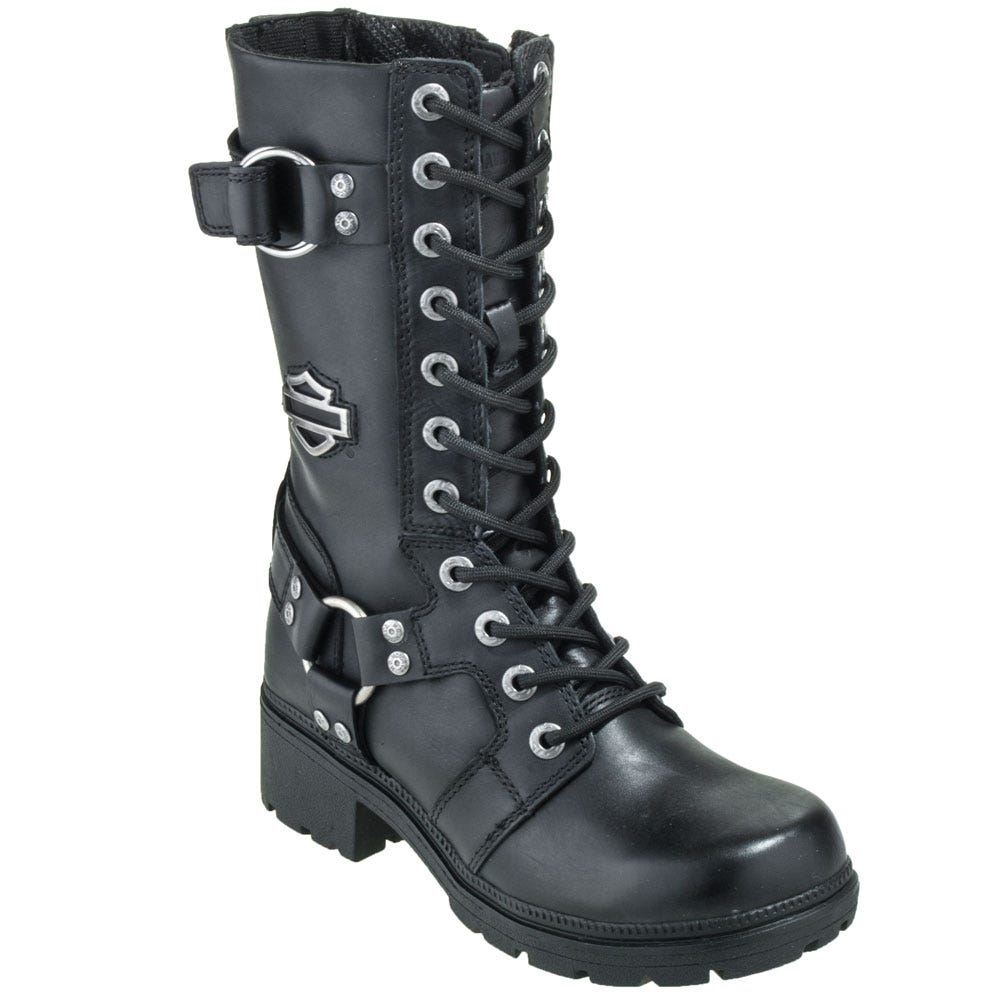 Harley Davidson Women's 83736 9 Inch Eda Motorcycle Boots