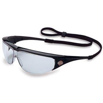 Harley Davidson Glasses: Clear Lens Safety Glasses HD400 Sale $10.00 Item#HD400 :
