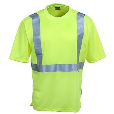 Wolverine Clothing Green W1102100 320 Hi-Visibility T-Shirt