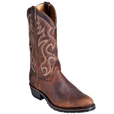 Double-H Boots: Men's 3282 Western 12 Inch Pull-On USA-Made Cowboy Boots
