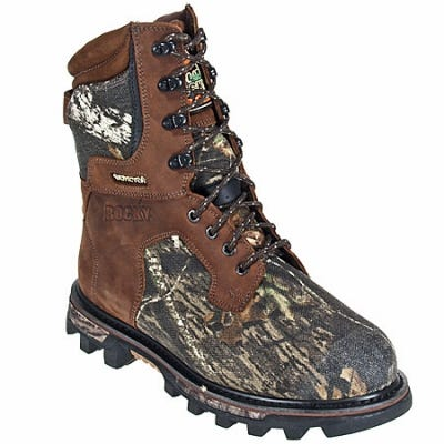 Rocky Boots Men's Waterproof Insulated Camo Hunting Boots 9275