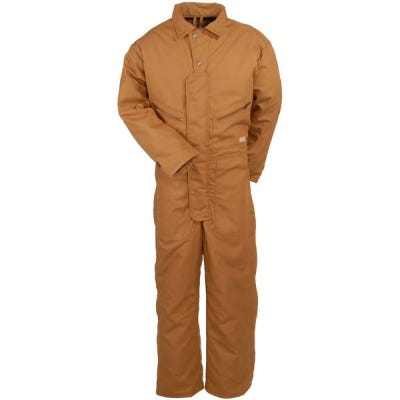 Red Kap Coveralls: Men's CD32 BD Insulated Brown Work Coveralls Sale $102.00 Item#CD32BD :