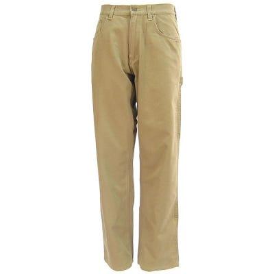 Carhartt Pants: Men's Khaki Cotton Carpenter Pants B159 GKH Sale $40.00 Item#72343 :