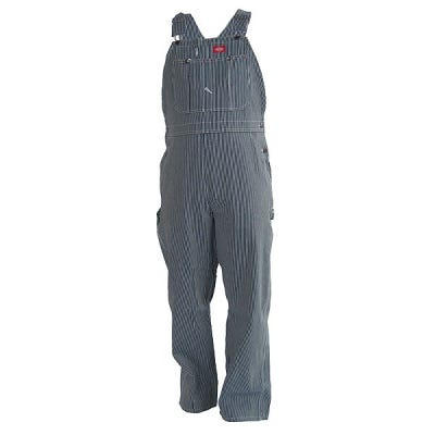 Dickies 83297 HS Hickory Stripe Cotton Bib Overalls