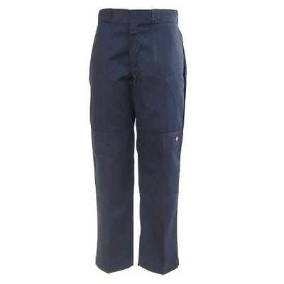 Dickies Men's Dark Navy 85283 DN Double Knee Loose Fit Work Pants