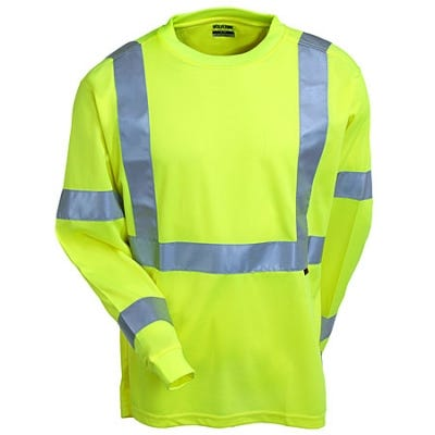 Wolverine Clothing High Vis Long Sleeve T-Shirt W1105800 320