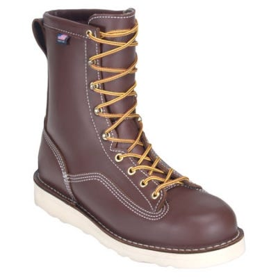 Danner Boots en's Brown 15200 Power Foreman Waterproof USA Made Work Boots