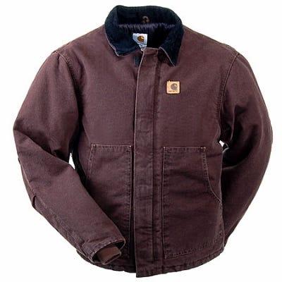 Carhartt Jackets: Quilt Lined Work Jacket J22 DKB Sale $95.00 Item#J22DKB :