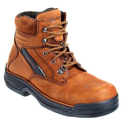 Wolverine Boots: Men's DuraShocks Steel Toe Work Boots 4109