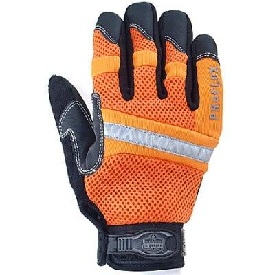 Ergodyne Gloves: High Visibility General Duty Mesh Gloves 872 Sale $22.00 Item#872-ORG :