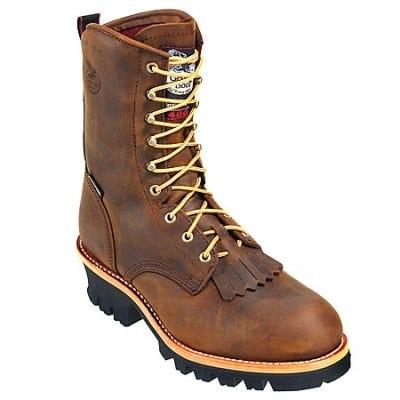Georgia Boots: Insulated Waterproof Steel Toe Loggers G9382 Sale $260.00 Item#G9382 :