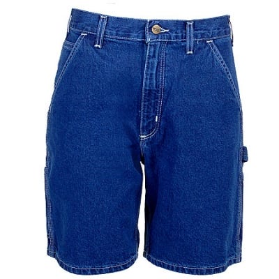 Carhartt Shorts: Men's Darkstone B28 DST Denim Work Shorts