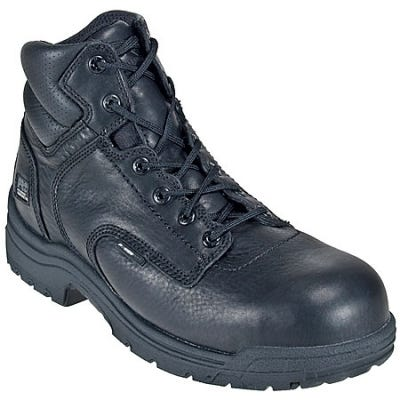 Timberland PRO Boots: Men's 50507 TiTAN Black EH Composite Toe Work Boots