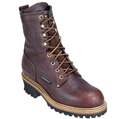 Carolina Women's Welted 8 Inch EH CA421 Logger Work Boots