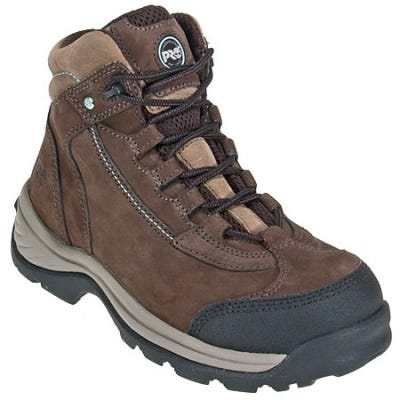 Timberland PRO Boots: Women's 89640 Ratchet EH Steel Toe Hiking Boots