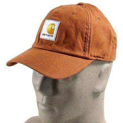 Carhartt Hats: Work Flex Canvas Cap A146 BRN Sale $17.00 Item#A146BRN :