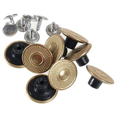 Carhartt Clothing Brass Extra Buttons A135 BRS