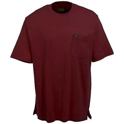 Wrangler Riggs Shirts Men S Burgundy 3w700 Bg Cotton