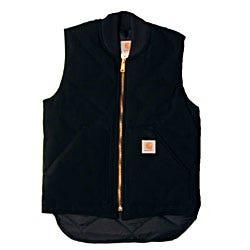 Carhartt Vests Outerwear Vests Cotton Duck Arctic Vest V01BLK